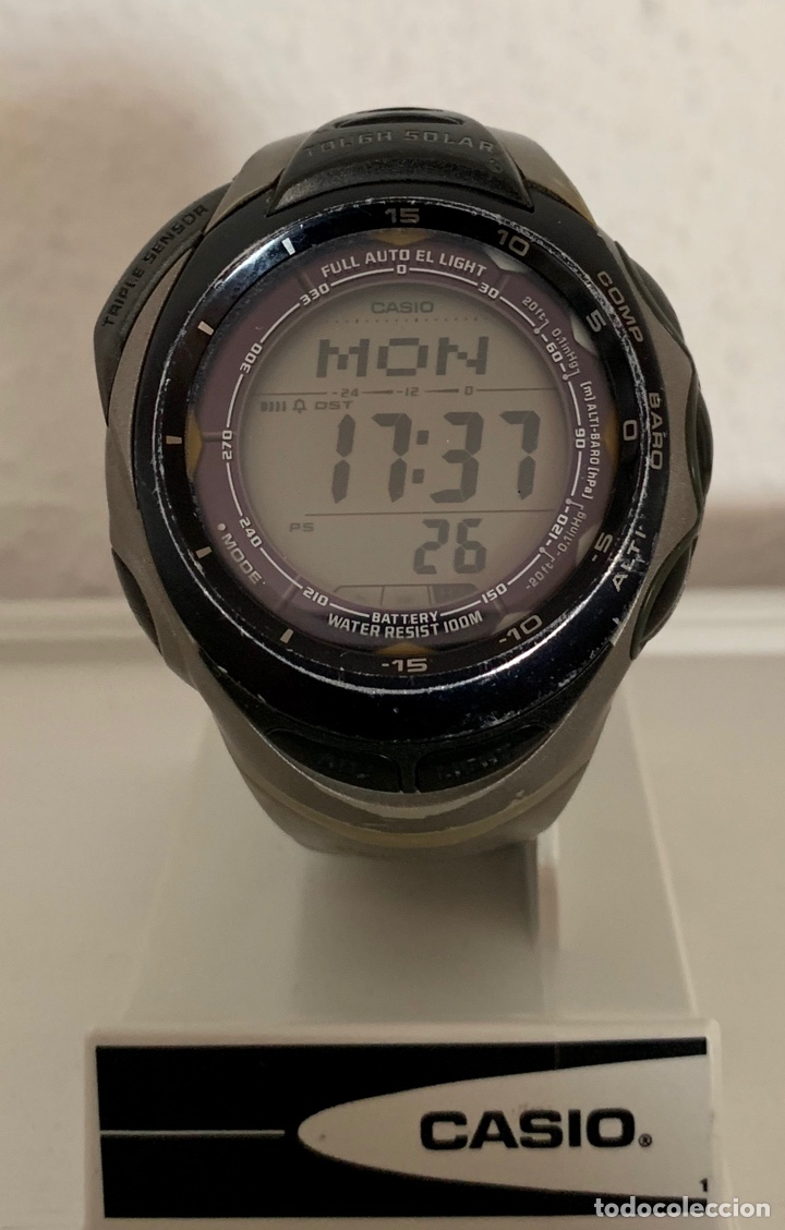 bae15b799bc7 reloj casio protrek touch solar titanio prg-90t - Buy Vintage ...