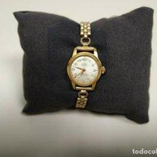 Vintage Uhren - 419- ANTIGUO RELOJ MUJER 2ª GUERRA MUNDIAL ASTER 21 JEWELS WATERPROOF FUNCIONA - 159392586