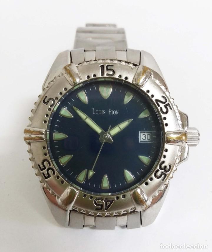 RELOJ LOUIS PION - VINTAGE AÑOS 80 (Relojes - Relojes Vintage )