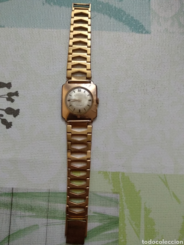 RELOJ MUJER RADIANT GOLD PLATED EXTRAFINO (Relojes - Relojes Vintage )