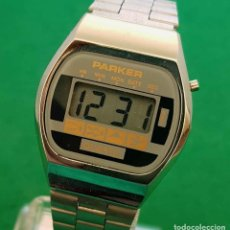 Vintage: RELOJ PARKER DIGITAL, VINTAGE, NOS,NEW OLD STOCK. Lote 160372894