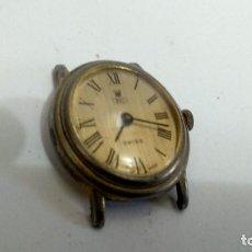 Vintage: RELOJ PULSERA CARGA MANUAL INTERQUARTZ. SWISS MADE. Lote 160405510