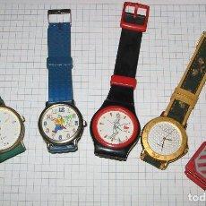 Vintage - Lote 5 relojes infantiles - 161433046
