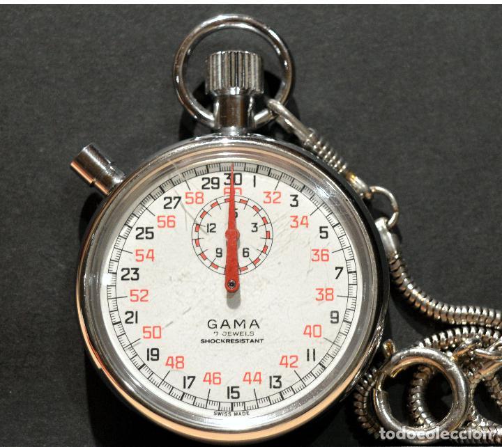 CRONOMETRO SUIZO GAMA 7 RUBÍS (Relojes - Relojes Vintage )