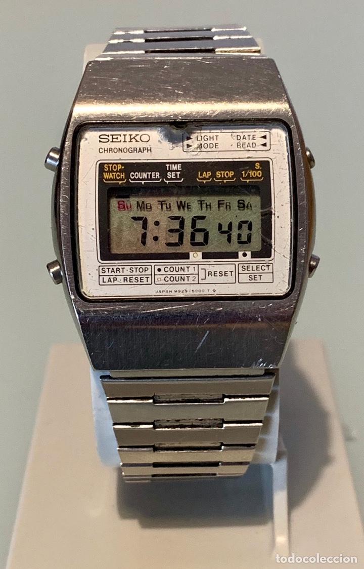 super popular e27ba 7b9b8 Reloj seiko digital m929-5000 vintage - Sold through Direct ...