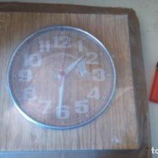 Vintage: ANTIGUO RELOJ PARED COCINA GONG TRANSISTOR NUEVO AÑOS 70 ESPAÑA . Lote 165063970