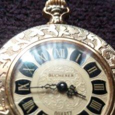 Vintage: RELOJ VINTAGE COLGANTE DE SEÑORA BUCHERER. Lote 165066349