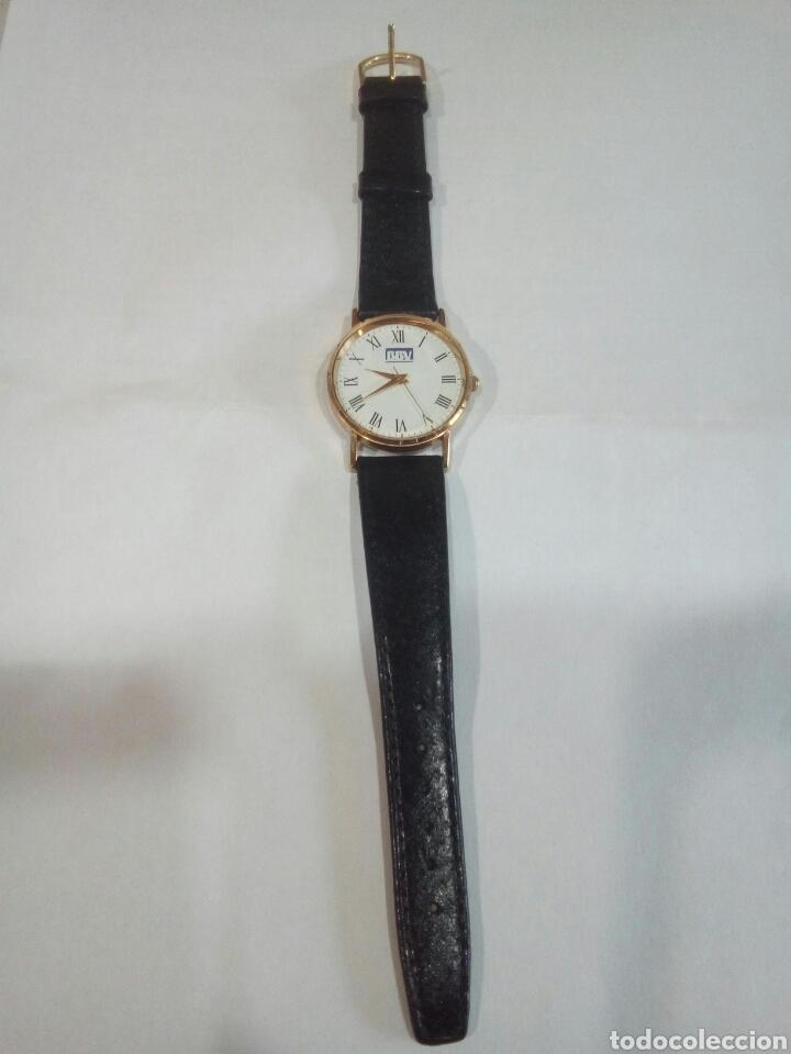 RELOJ DE PUBLICIDAD BBV (Relojes - Relojes Vintage )