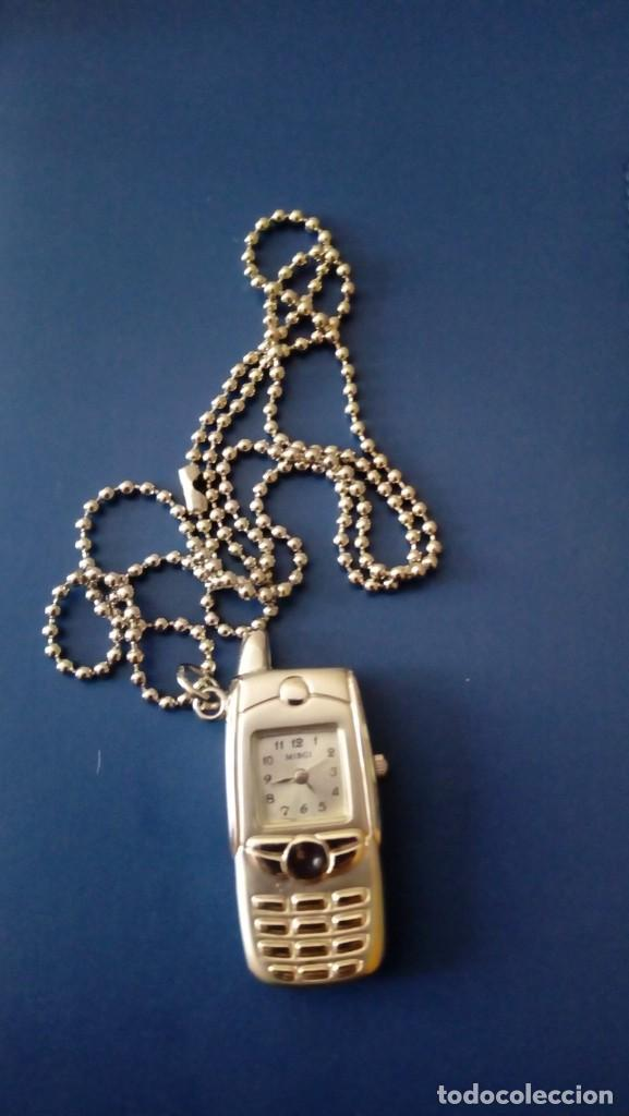 RELOJ COLGANTE VINTAGE, MODELO MÓVIL ANTIGUO (Relojes - Relojes Vintage )