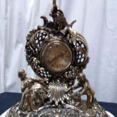Vintage: RELOJ SOBREMESA BRONCE. Lote 166239170