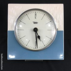 Vintage: RELOJ DE PARED-CERÁMICA-DIEHL ELECTRO-MADE IN GERMANY. Lote 166458194
