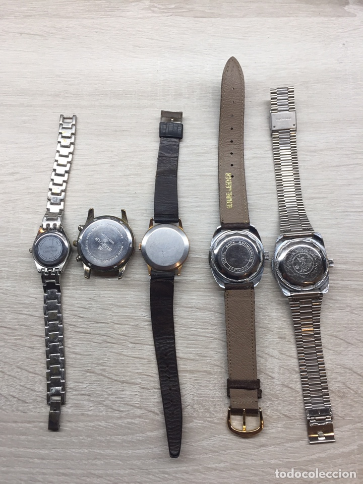 Vintage: Lote cinco reloj - Foto 7 - 167066557
