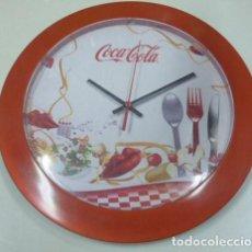 Vintage: RELOJ DE PARED , PUBLICIDAD PEPSI . Lote 167551264