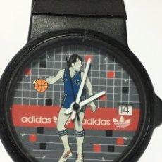 Vintage Watches - Reloj Adidas baloncesto modelo vintage maquinaria Swiss made en funcionamiento - 168058665