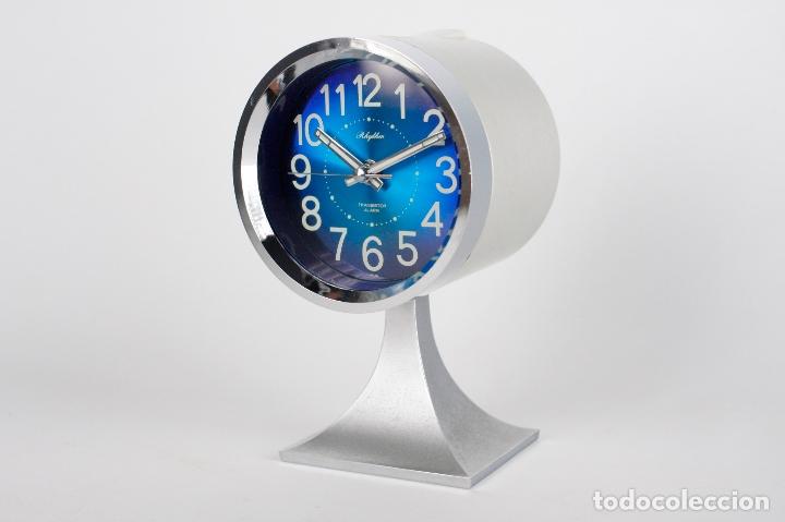 RELOJ DESPERTADOR RHYTHM SPACE AGE RETRO VINTAGE JAPAN 70S (Relojes - Relojes Vintage )