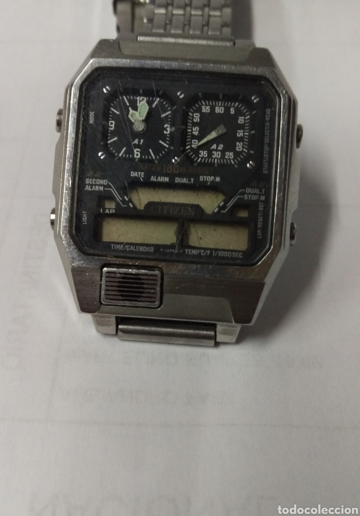 RELOJ CITIZEN ROBOT 8984 JAPAN VINTAGE (Relojes - Relojes Vintage )