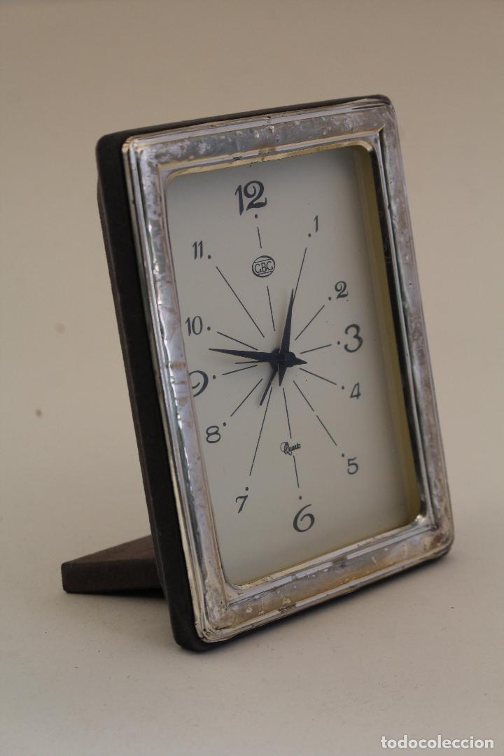 Vintage: reloj despertador en plata de ley 925 - Foto 2 - 169369320