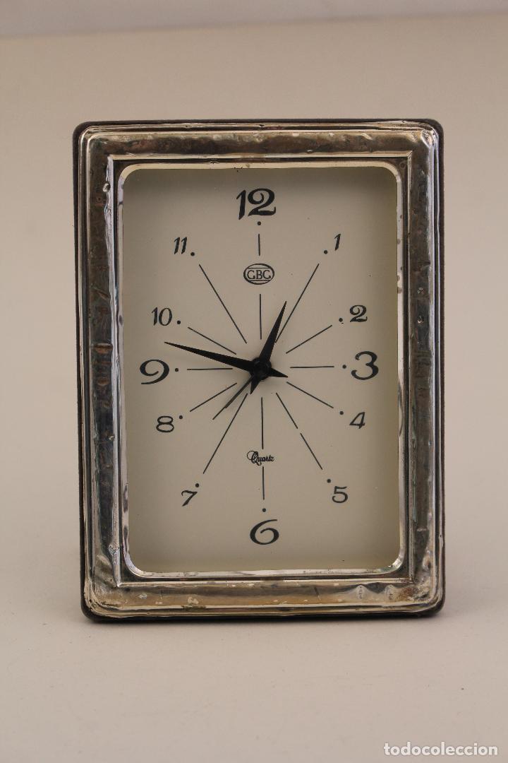 Vintage: reloj despertador en plata de ley 925 - Foto 3 - 169369320