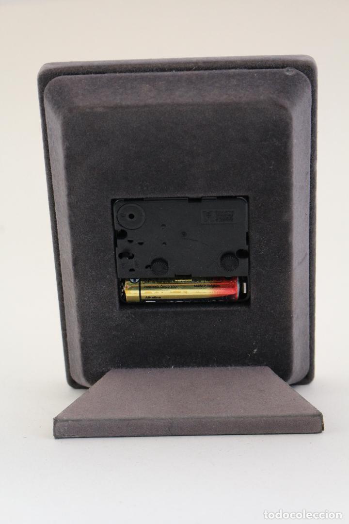 Vintage: reloj despertador en plata de ley 925 - Foto 5 - 169369320