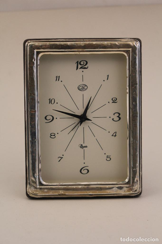 RELOJ DESPERTADOR EN PLATA DE LEY 925 (Relojes - Relojes Vintage )