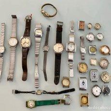 Vintage: LOTE DE RELOJES ANTIGUOS A REPARAR. Lote 169542664