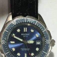 Vintage: RELOJ BEUCHAT ABYSS PROFESIONAL 200M QUARTZ CAJA DE ACERO. Lote 185746292