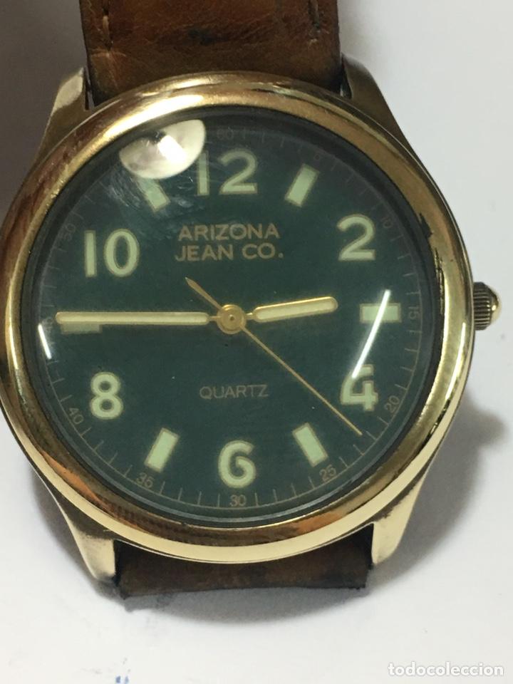 RELOJ ARIZONA JEAN CO. MOVIMIENTO JAPAN CUARZO VINTAGE (Relojes - Relojes Vintage )
