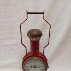 Vintage: RELOJ SOBREMESA - TITAN TRANSISTOR LIC. ATO ESPAÑA - FORMA DE ANTIGUA LINTERNA. Lote 171222143
