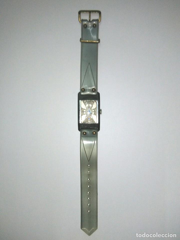 ANTIGUO RELOJ EDOX PARA REPASAR DE LOS AÑOS 30 CORREA ORIGINAL DE CELULOIDE (Relojes - Relojes Vintage )