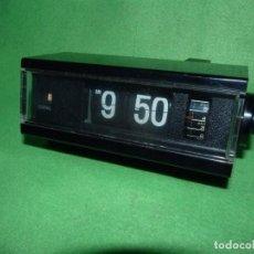 Vintage: FANTASTICO RELOJ COPAL NUMEROS VOLCANTES DESPERTADOR FLIP CLOCK VINTAGE AÑOS 70 JAPAN VINTAGE. Lote 172113620