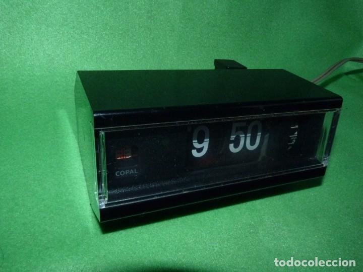 Vintage: FANTASTICO RELOJ COPAL NUMEROS VOLCANTES DESPERTADOR FLIP CLOCK VINTAGE AÑOS 70 JAPAN VINTAGE - Foto 2 - 172113620