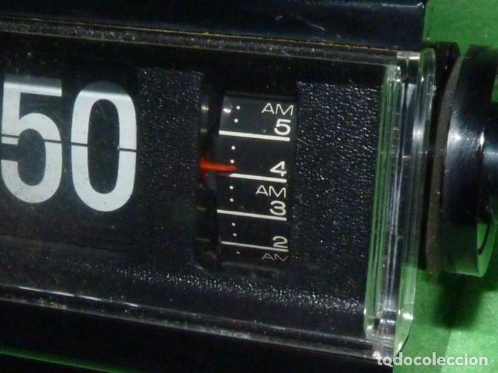Vintage: FANTASTICO RELOJ COPAL NUMEROS VOLCANTES DESPERTADOR FLIP CLOCK VINTAGE AÑOS 70 JAPAN VINTAGE - Foto 4 - 172113620