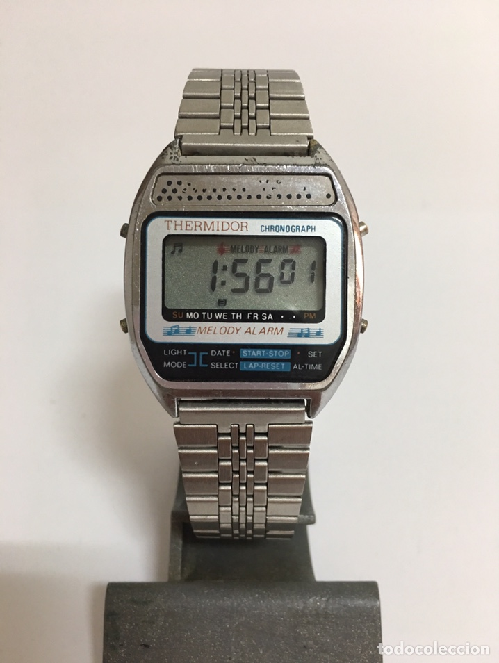 RELOJ THERMIDOR MELODIA ALARMA CRONÓGRAFO (Relojes - Relojes Vintage )