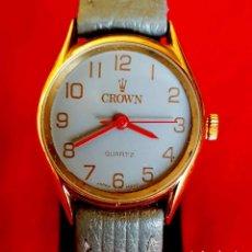Vintage: RELOJ CROWN, SWISS MADE, VINTAGE, NOS (NEW OLD STOCK). Lote 172500783