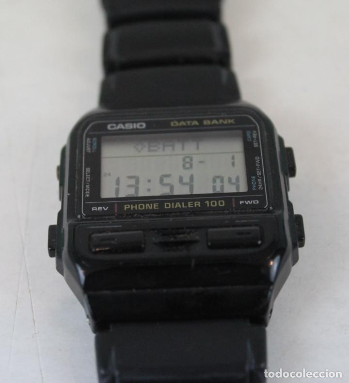 Vintage: Reloj Casio digital,modelo DBA100,modulo 698,DATABANK. - Foto 2 - 172887279