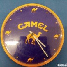Vintage: RELOJ DE PARED CAMEL , AÑO 1980 ,PUBLICIDAD. Lote 173586074