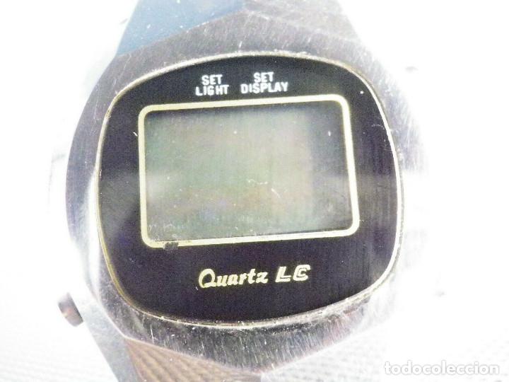 ANTIGUO RELOJ ELECTRONICO AÑOS 70 GRAN MAQUINA NO FUNCIONA REPARAR LOTE WATCHES (Relojes - Relojes Vintage )