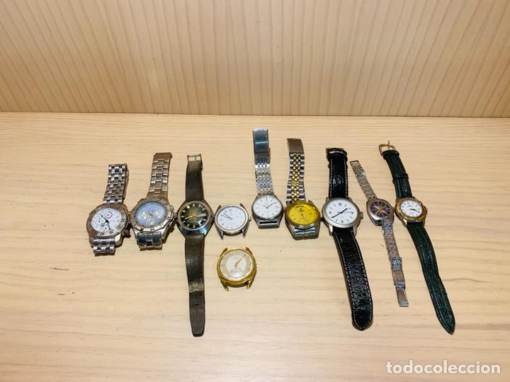 LOTE DE 10 RELOJES (Relojes - Relojes Vintage )