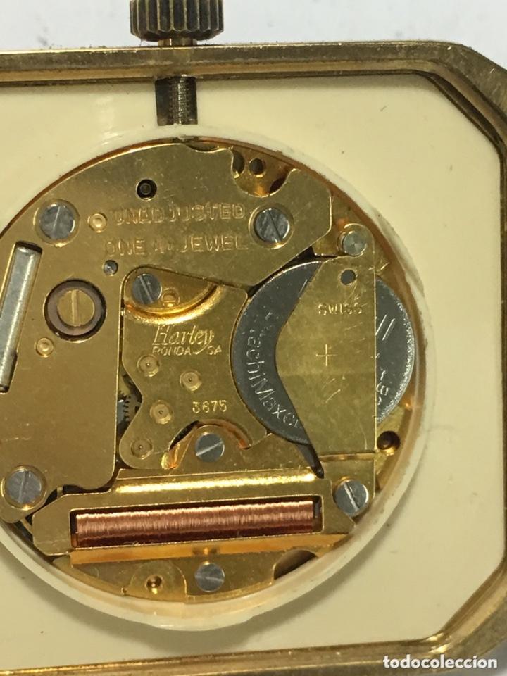 Vintage: Reloj Tormas Quartz vintage extraplano maquinaria Swiss Harley 3675 - Foto 4 - 175559020
