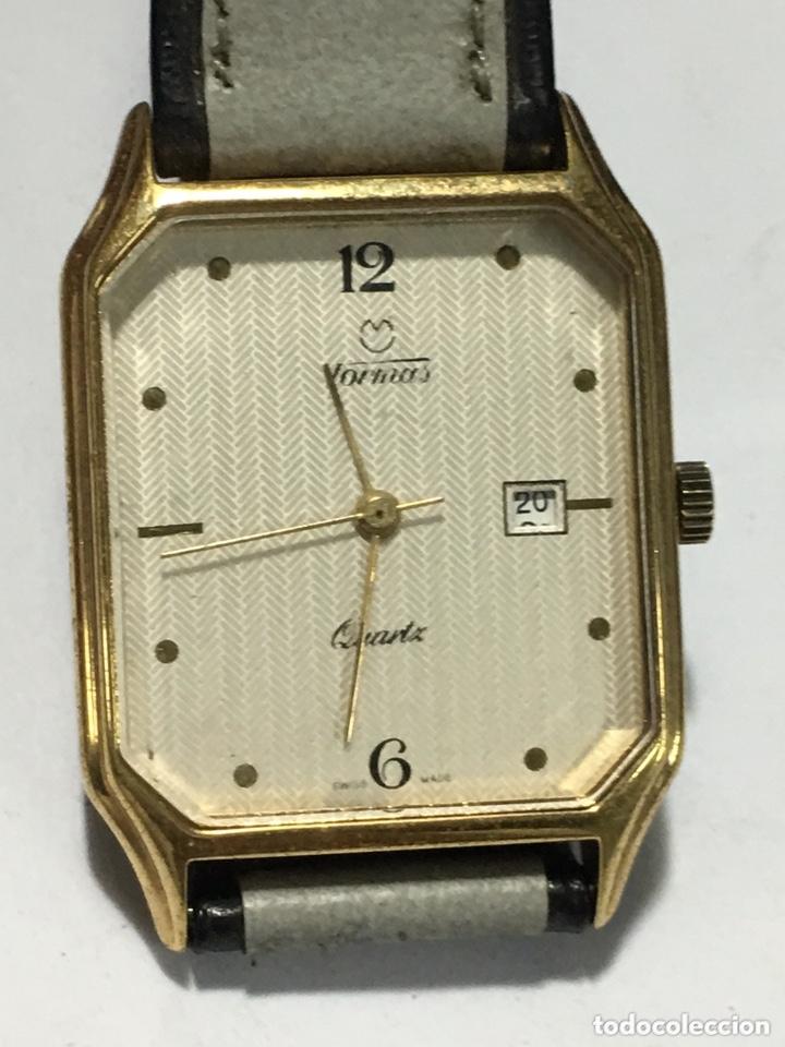 RELOJ TORMAS QUARTZ VINTAGE EXTRAPLANO MAQUINARIA SWISS HARLEY 3675 (Relojes - Relojes Vintage )