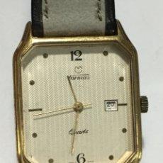 Vintage: RELOJ TORMAS QUARTZ VINTAGE EXTRAPLANO MAQUINARIA SWISS HARLEY 3675. Lote 175559020
