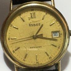 Vintage: RELOJ TISSOT STYLIST MODELO C-260 MAQUINARIA SWISS ETA 955414 PARA COLECCIONISTAS VINTAGE. Lote 175561197