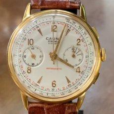 Vintage: RELOJ CAUNY PRIMA CHRONOMETRO VINTAGE LANDERON 248. Lote 175683567