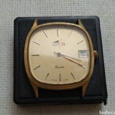 Vintage: RELOJ LOTUS QUARTZ VINTAGE. Lote 176235585