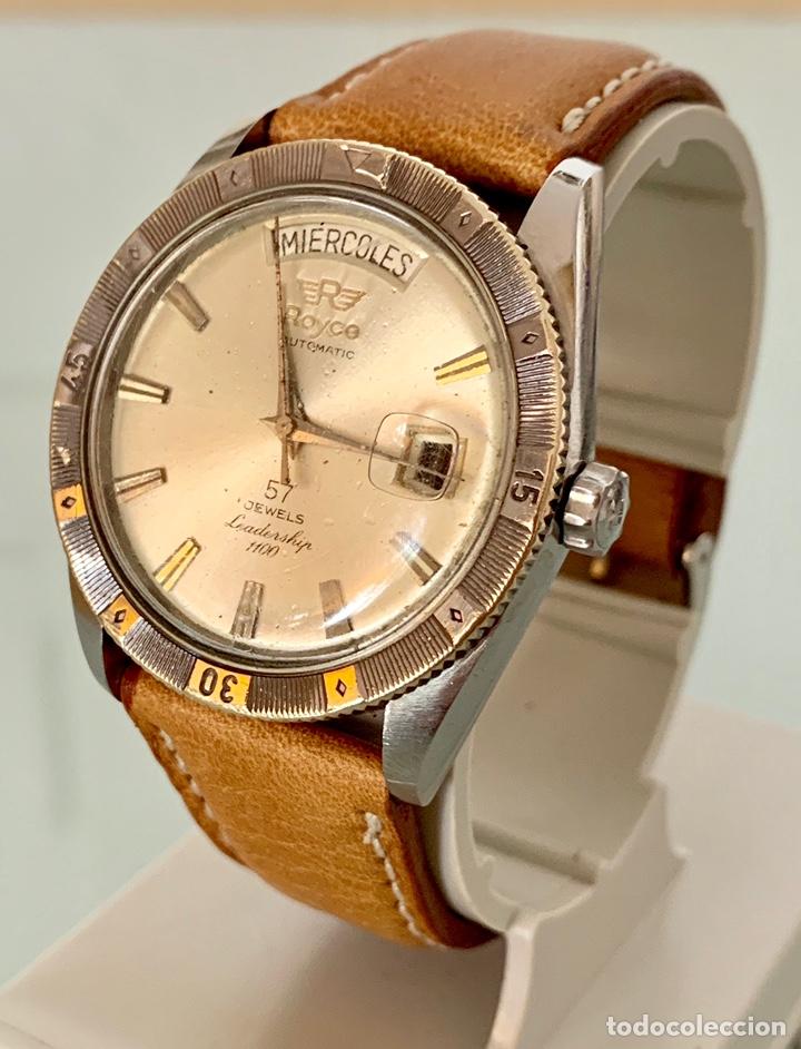 Vintage: Reloj Royce Leadership automático 57 jewells vintage - Foto 2 - 176265137