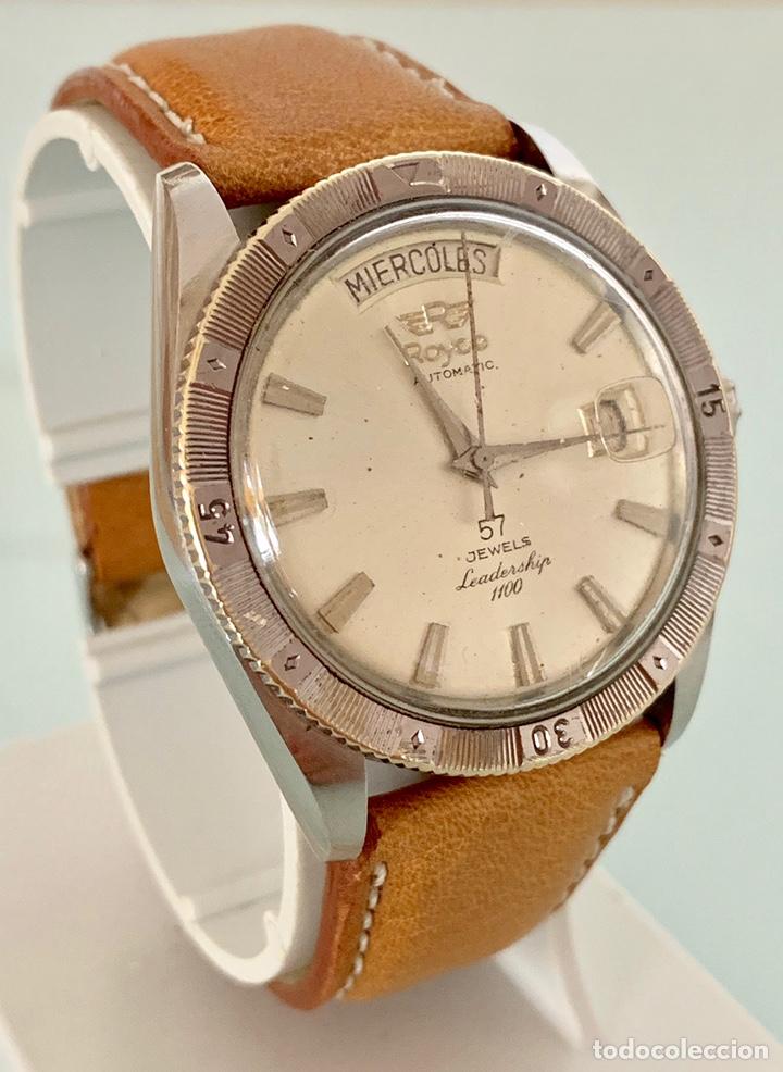 Vintage: Reloj Royce Leadership automático 57 jewells vintage - Foto 3 - 176265137