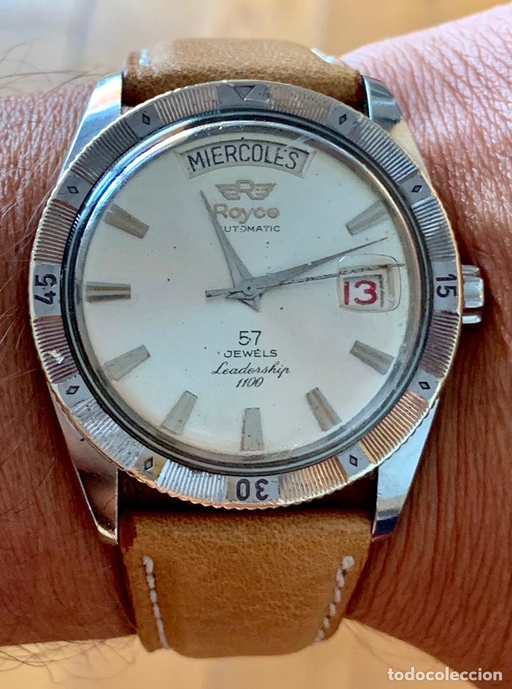 Vintage: Reloj Royce Leadership automático 57 jewells vintage - Foto 5 - 176265137