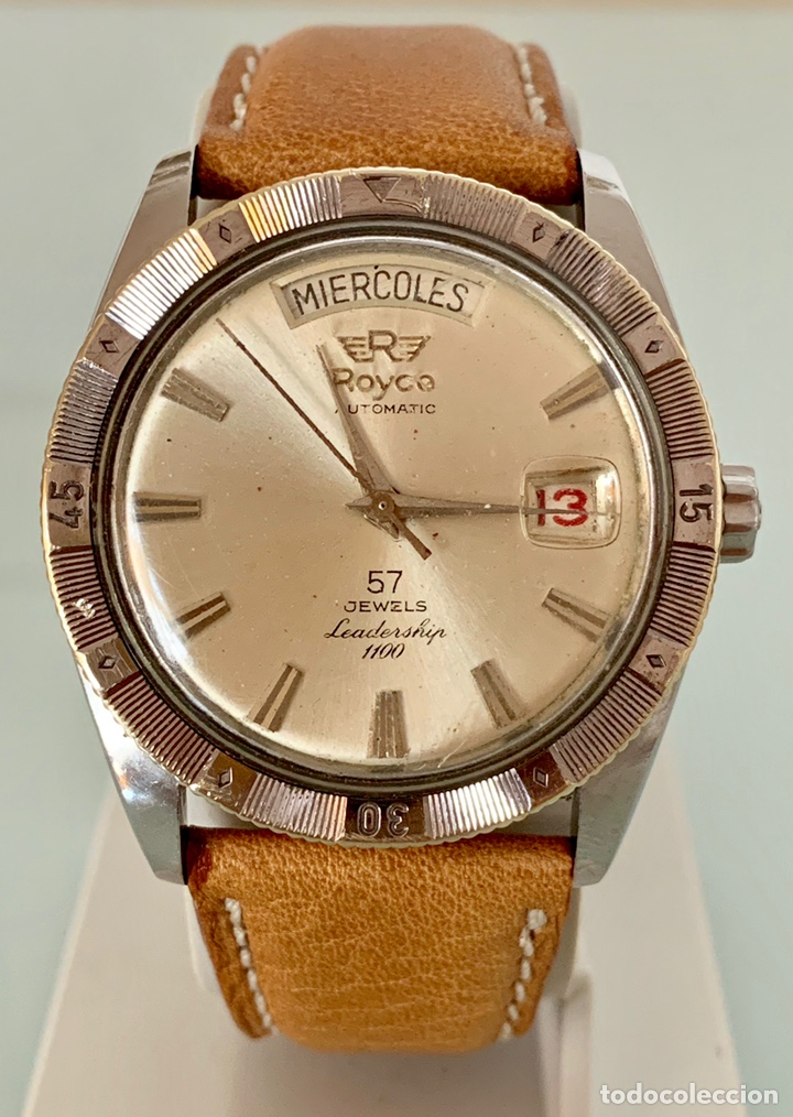 RELOJ ROYCE LEADERSHIP AUTOMÁTICO 57 JEWELLS VINTAGE (Relojes - Relojes Vintage )