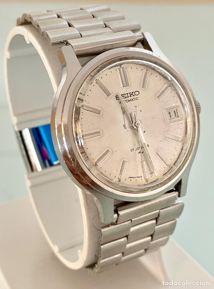 Vintage: Reloj seiko Automático 7005-7110 vintage - Foto 3 - 176266912