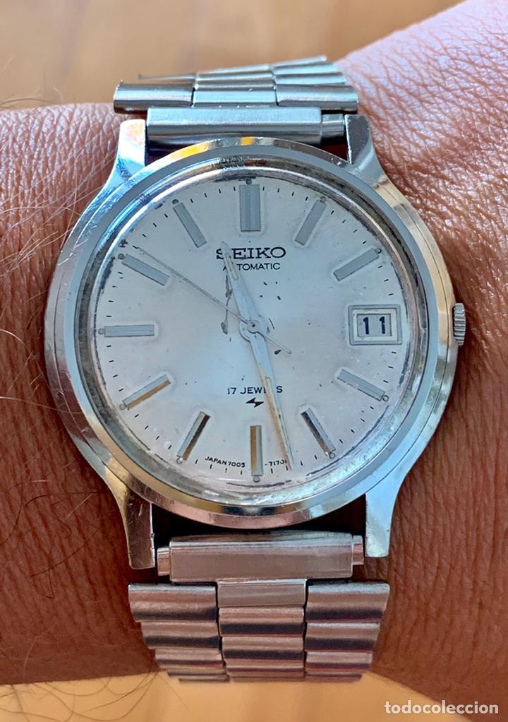 Vintage: Reloj seiko Automático 7005-7110 vintage - Foto 5 - 176266912